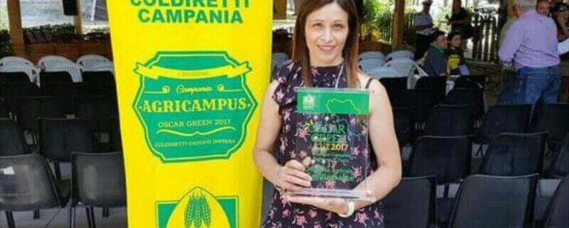 emilia calca ritira premio castagne oscargreen
