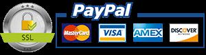 pagamenti sicuri con pay pal carta di credito o bonifico bancario
